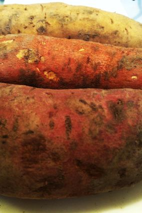 white red purple sweet potato